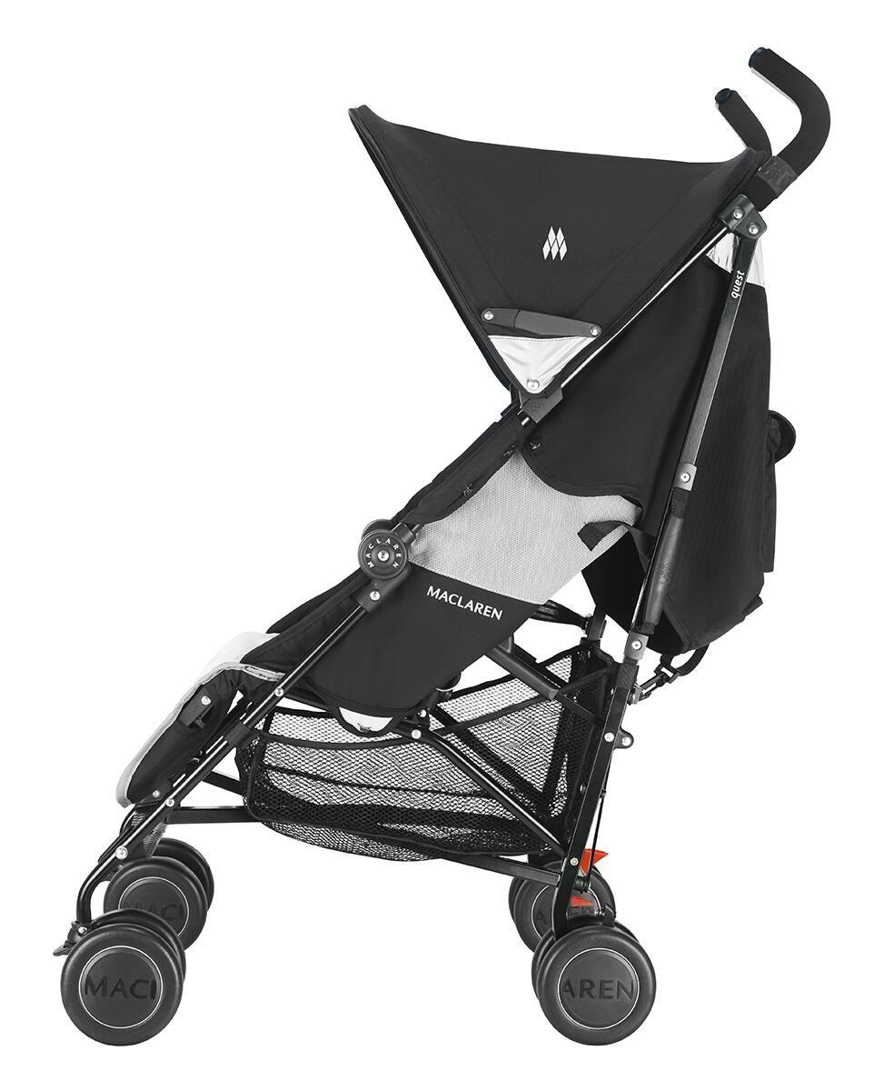 Maclaren Quest Sport Stroller / Black & Champagne 290