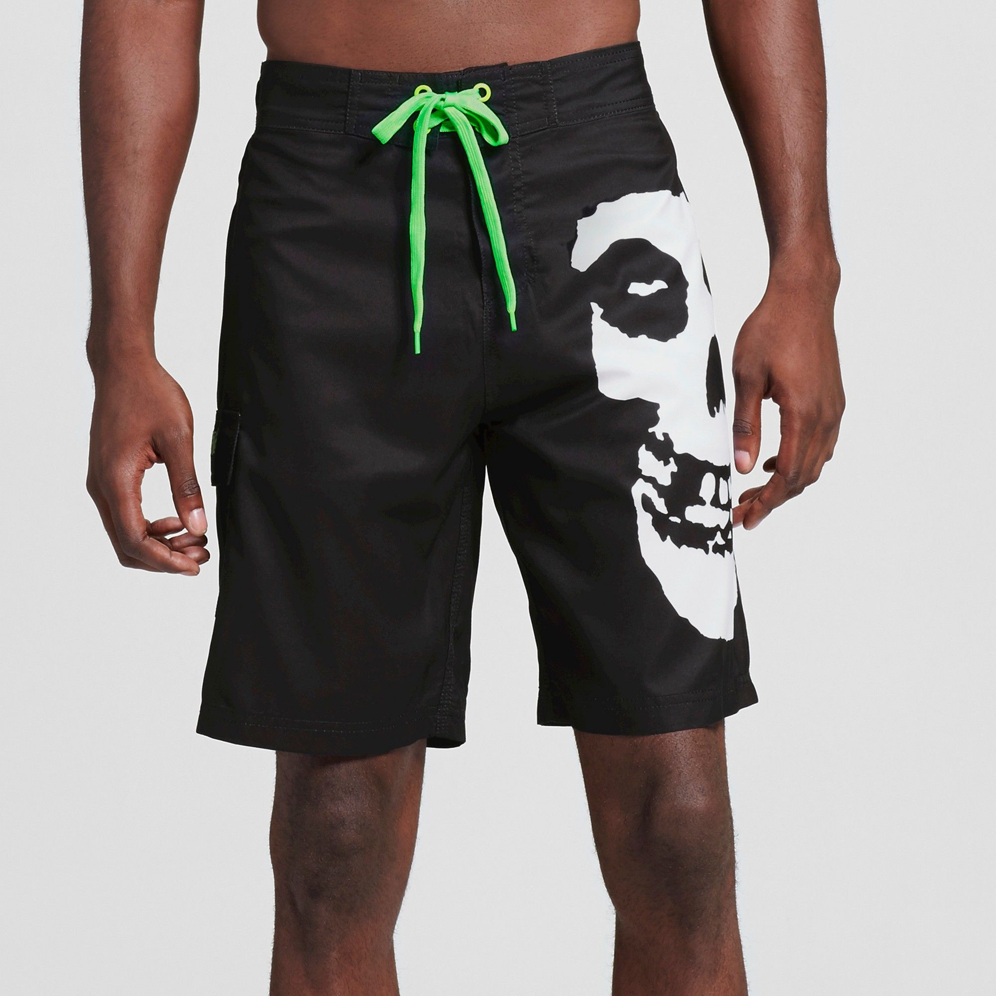 e5e06dfcac Men's Misfits Logo Board Shorts Black/White S - Misfits | Products ...
