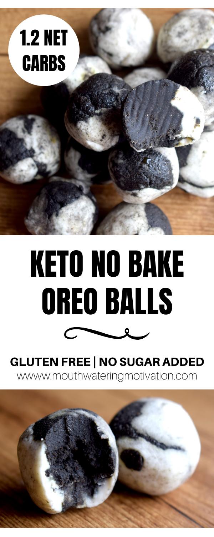 Keto Oreo Balls | Mouthwatering Motivation