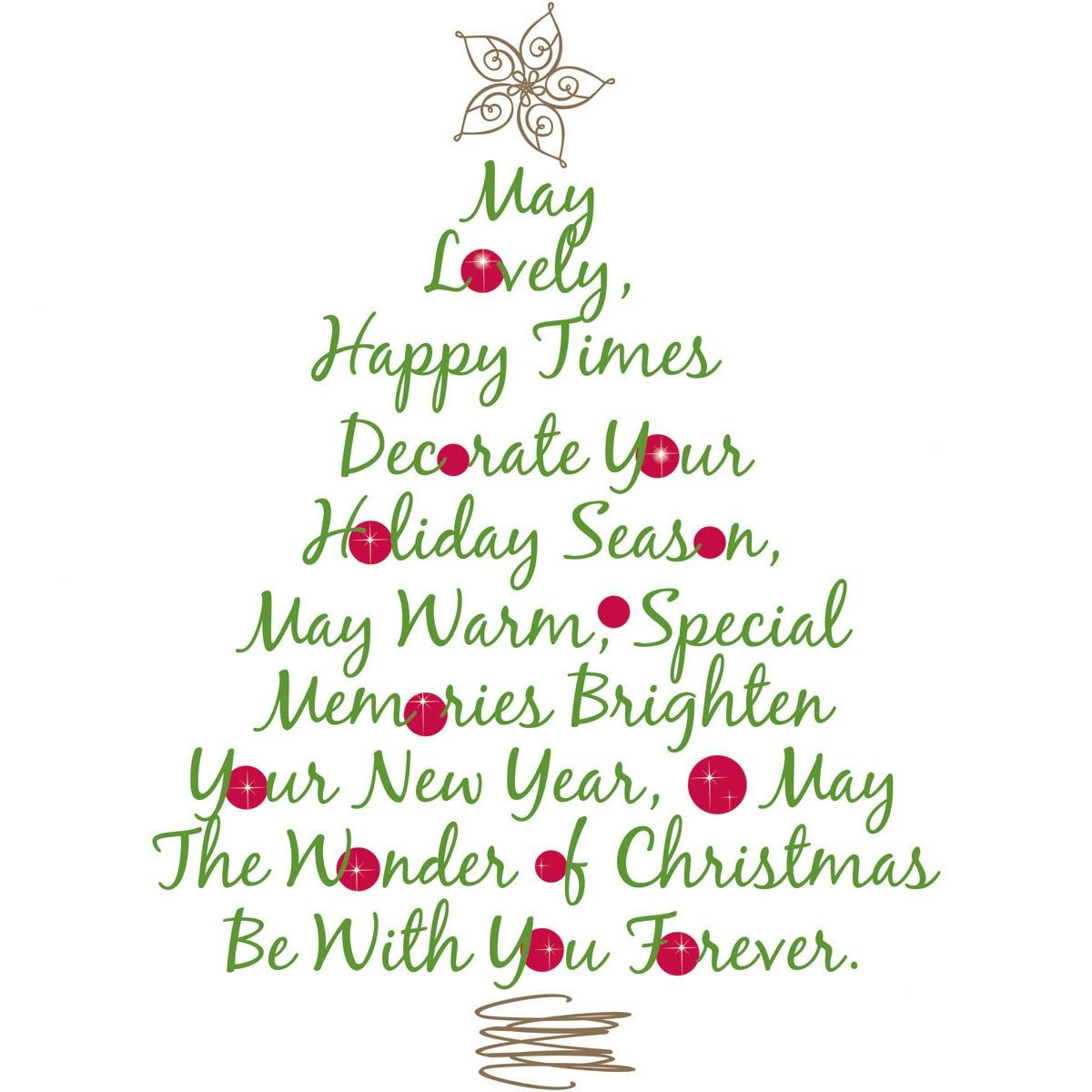 Christmas Wish Christmas Tree Quotes Christmas Poems Merry Christmas Quotes