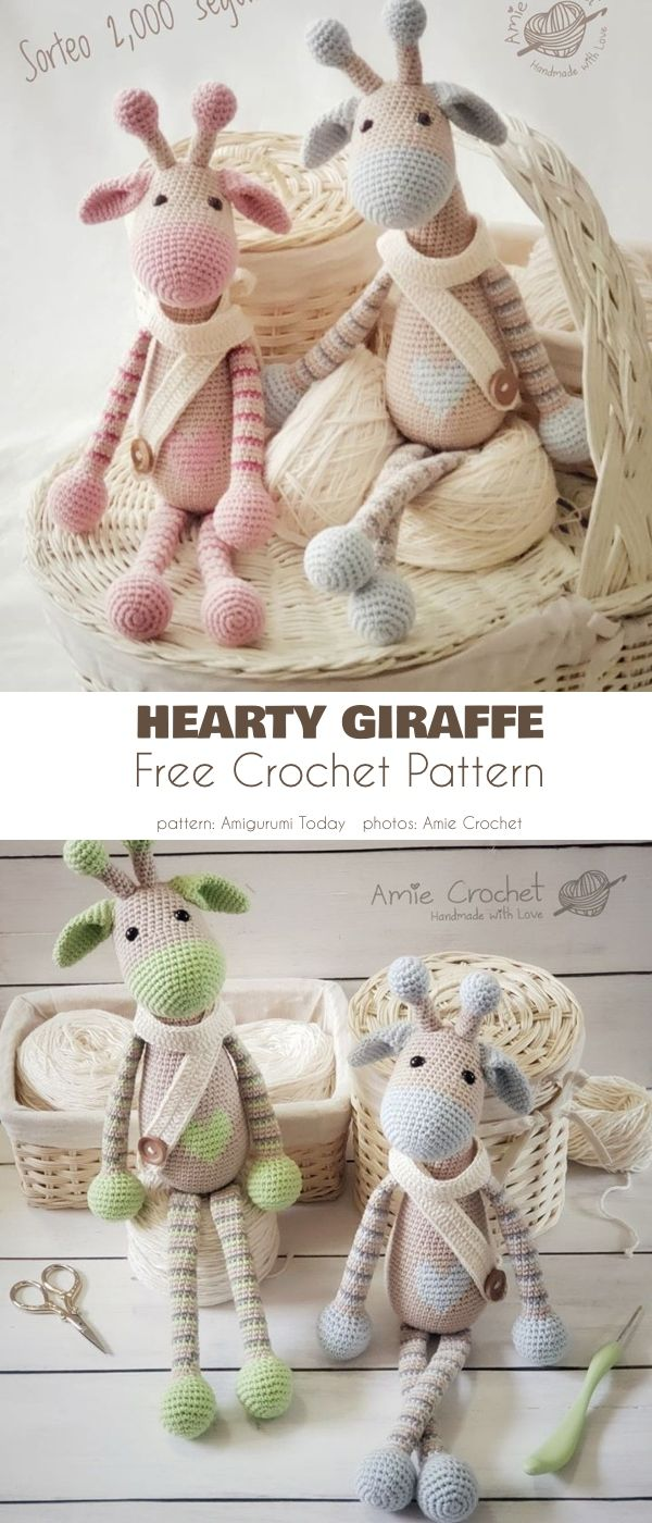Amigurumi Giraffe Best Crochet Patterns