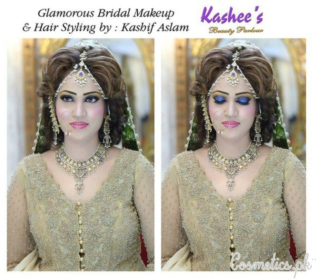Latest Bridal Makeup By Kashee's Beauty Parlour 2015