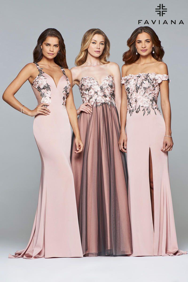 c4aba82a7b Faviana Glamour Dress S10022