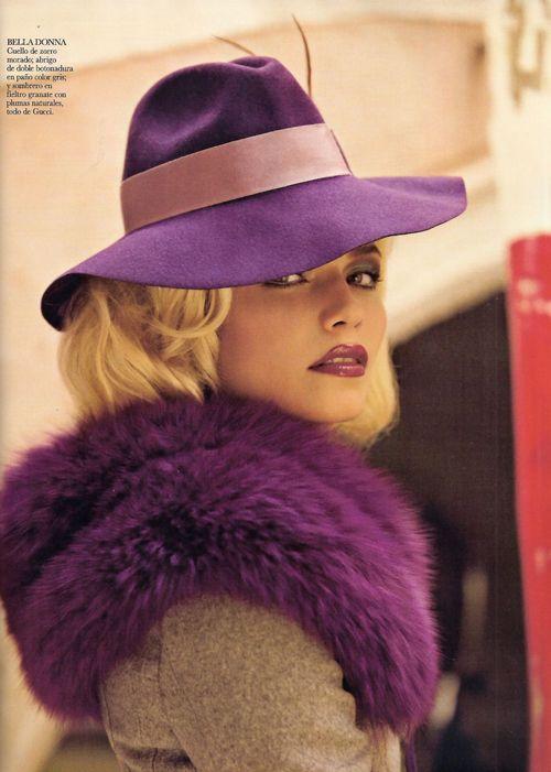 violet. purple. regal.