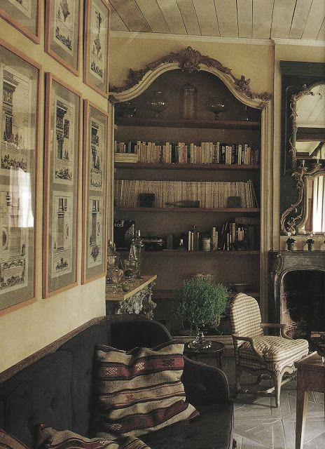 47 French Style Living Room Design Ideas: French Style. French Country Decor, Book Shelves, Pallette