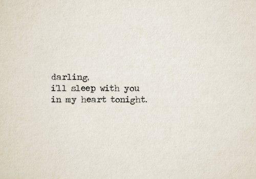 tonight. And every night
