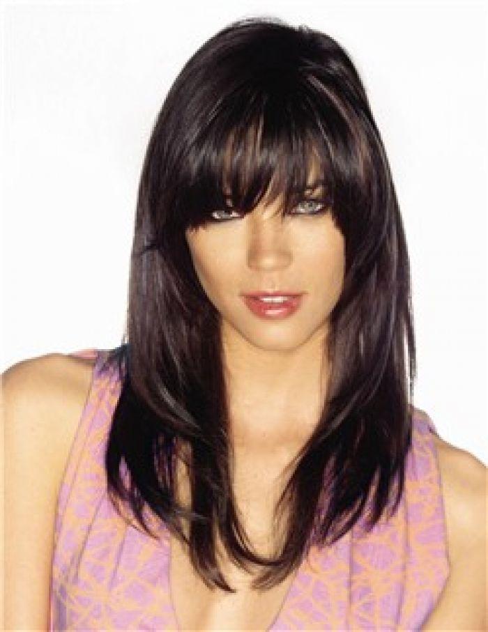 2013 Hairstyles For Long Hair With Bangs Ide Gaya Rambut Ide Potongan Rambut Potongan Rambut