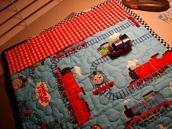 Thomas the Train Quilted Play Mat | Play mats, Quilt tutorials and ... : thomas quilt - Adamdwight.com