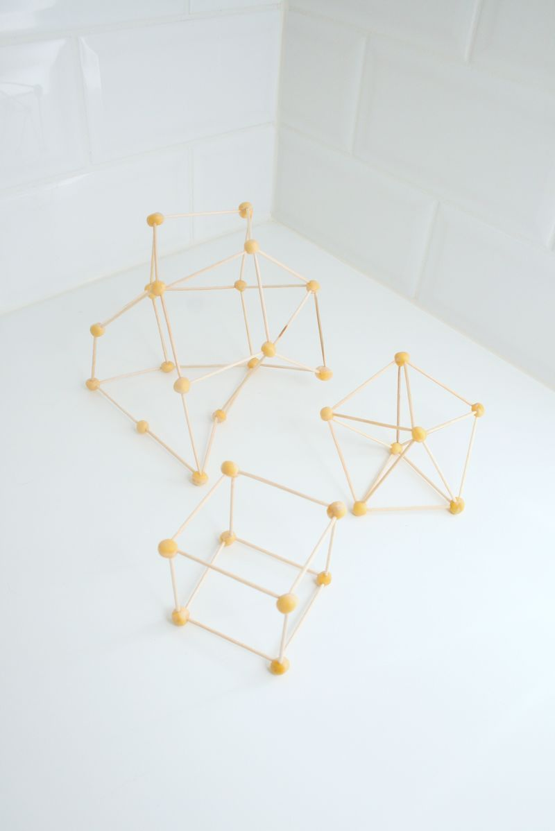 chickpea geometry - how fun! just soak the peas overnight in water