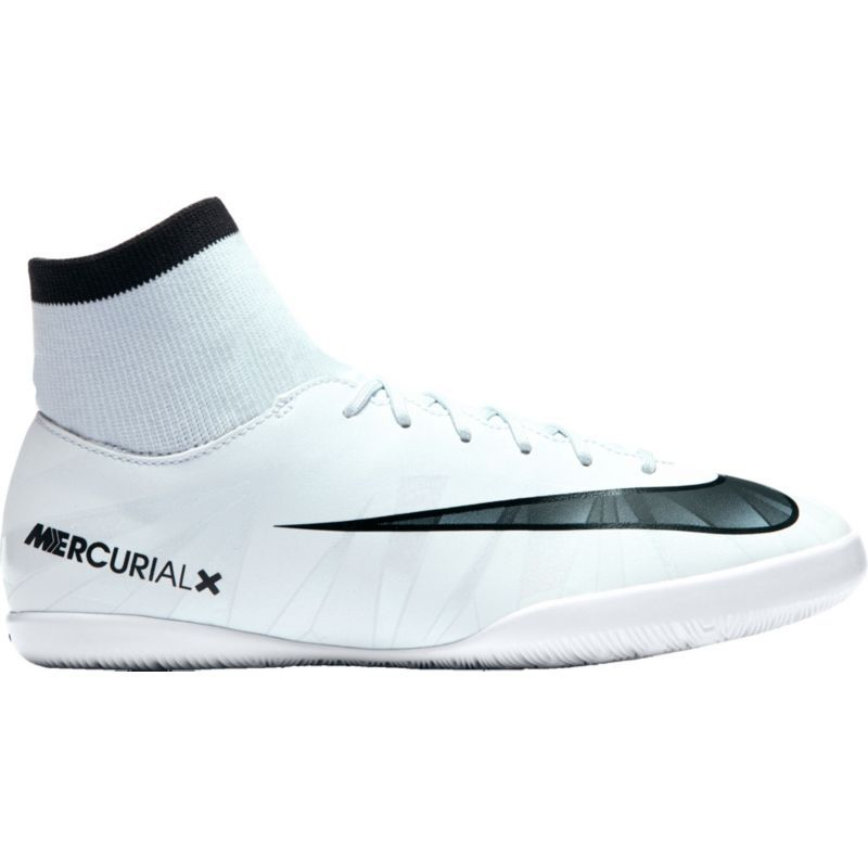 Nike Kids Mercurialx Victory Vi Cr7 Dynamic Fit Indoor Soccer Shoes Size 2 0 White Soccer Shoes Indoor Soccer Shoes Nike Soccer Shoes