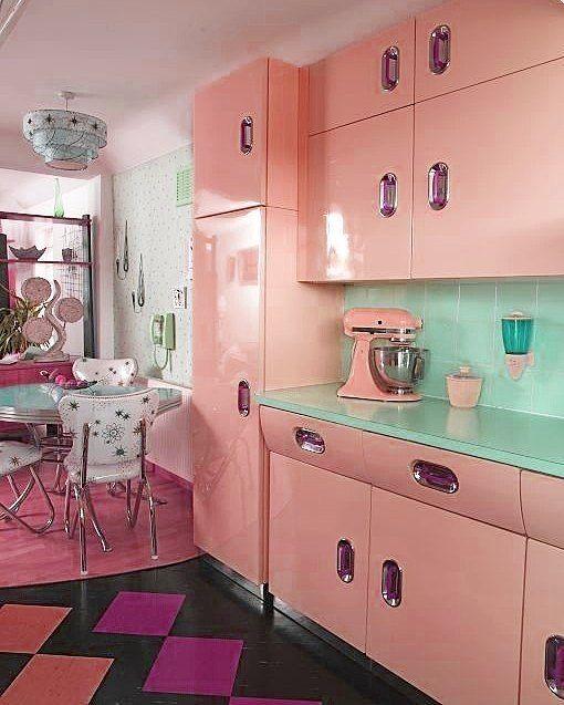 Rockabilly Kitchen Decor: #goals ? Change? Tag Your #valentine . . #peachy