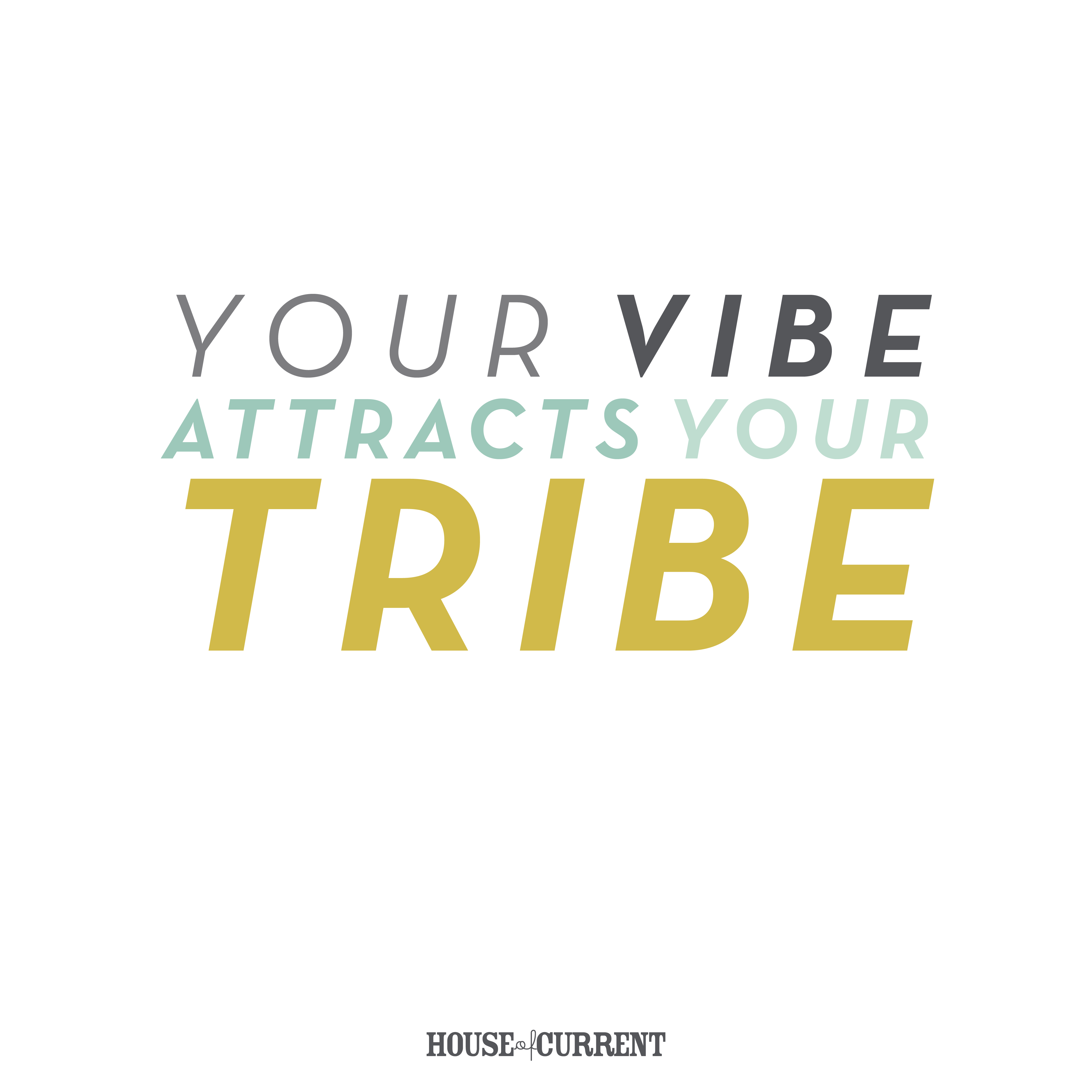 Quotes About Houses Your Vibe Attracts Your Tribe Motivational Quote  House Of