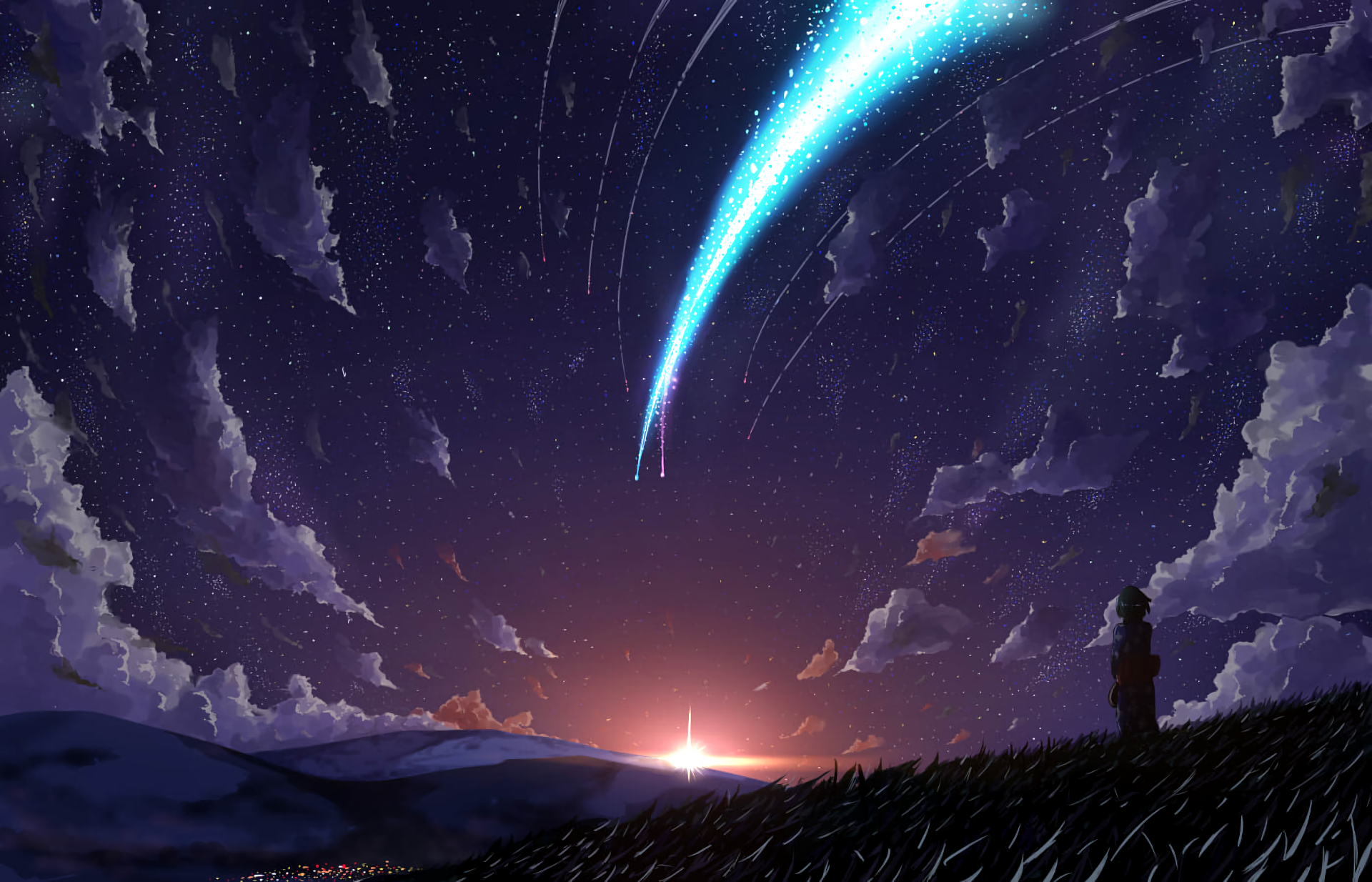 Anime Your Name Mitsuha Miyamizu Kimi No Na Wa Wallpaper Kimi No Na Wa Wallpaper Kimi No Na Wa Your Name Wallpaper