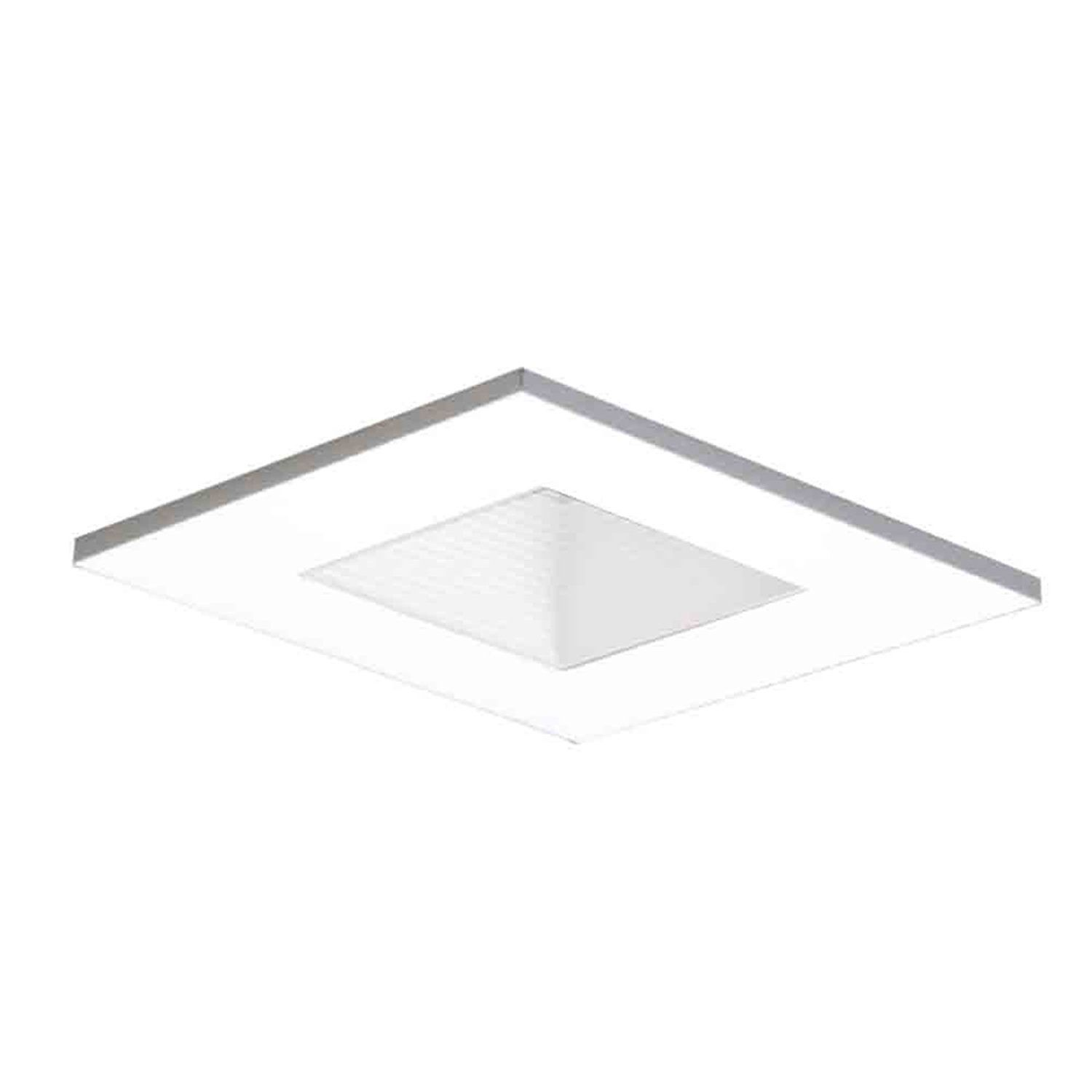 Halo Recessed 3012WHWB 3-Inch 15-Degree Trim Lensed Square Shower Light with Baffle, White - Recessed Light Fixture Trims - Amazon.com