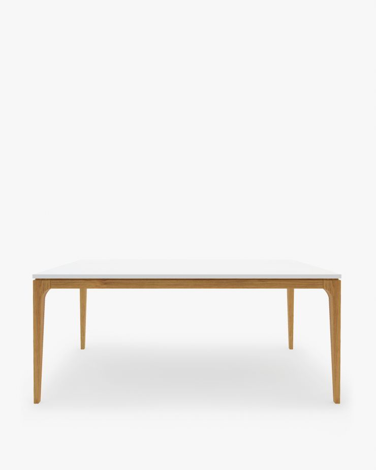 Mid Century Modern Dining Tables Rove Concepts Andover DR - Rove concepts saarinen table