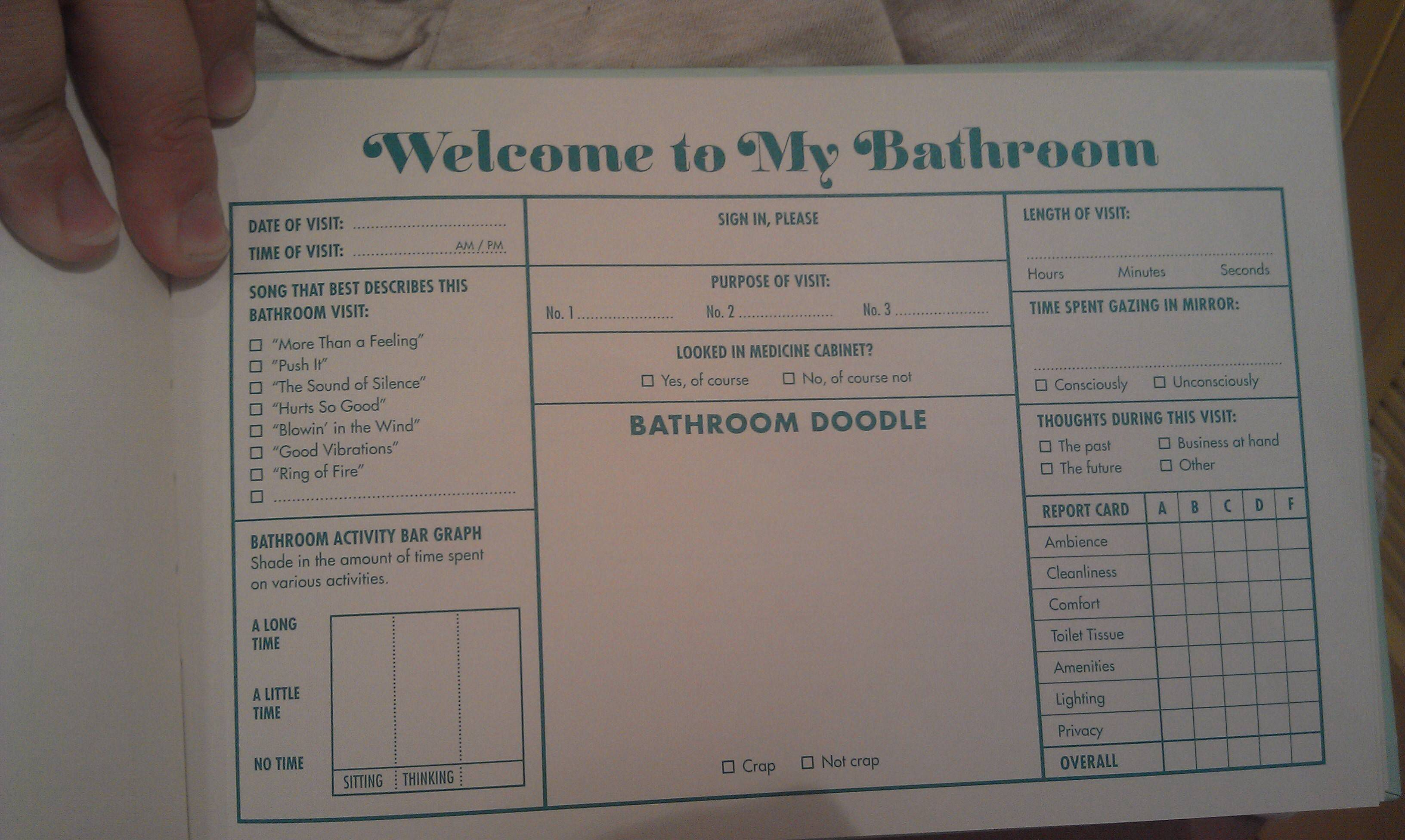 Essential for every bathroom