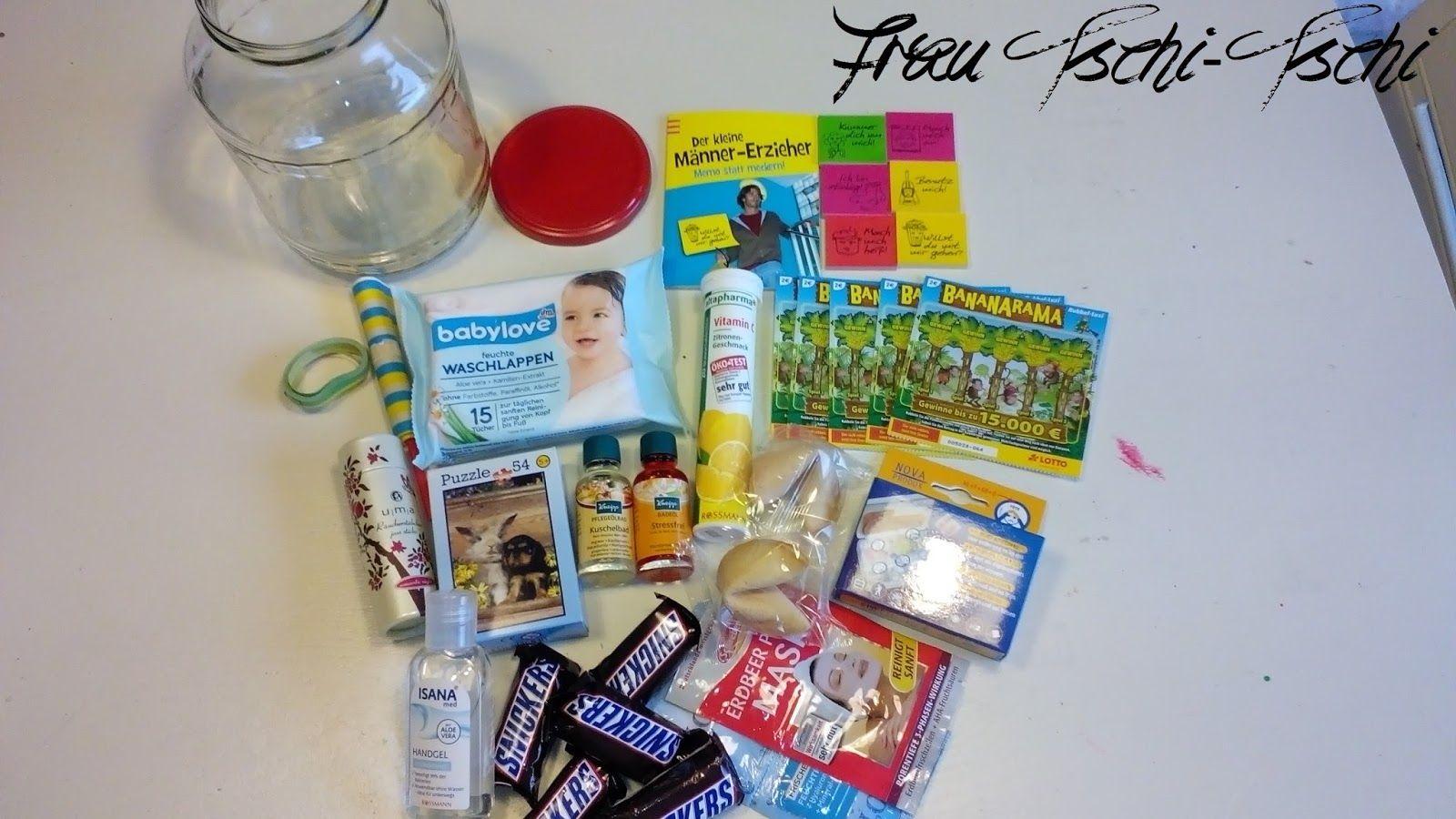 Frau Tschi Tschi Geschenk Im Glas Mama Survival Kit
