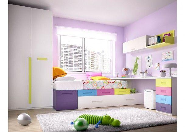 Dormitorio Juvenil 203-1012015 | Habitació marina | Pinterest ...
