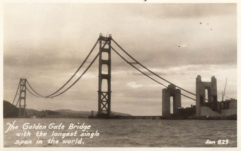 Picture Of The Golden Gate Bridge
