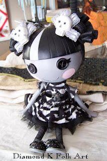 gothic lalaloopsy doll. I love lalaloopsies <3