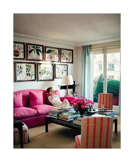 Decor Inspiration Lee Radziwill S Paris Apartment By This Is Glamorous Via Flickr