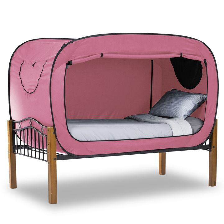 The Bed Tent Pink | INSIDE dwellings | Bed tent, Bed, Shared bedrooms