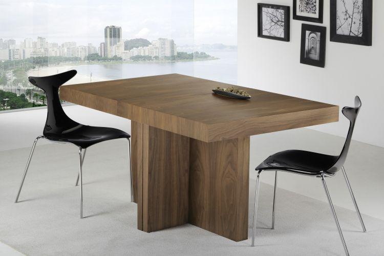 Mesa de comedor extensible 140 190 240 290 x 90 x 76 cm - Mesa comedor extensible moderna ...