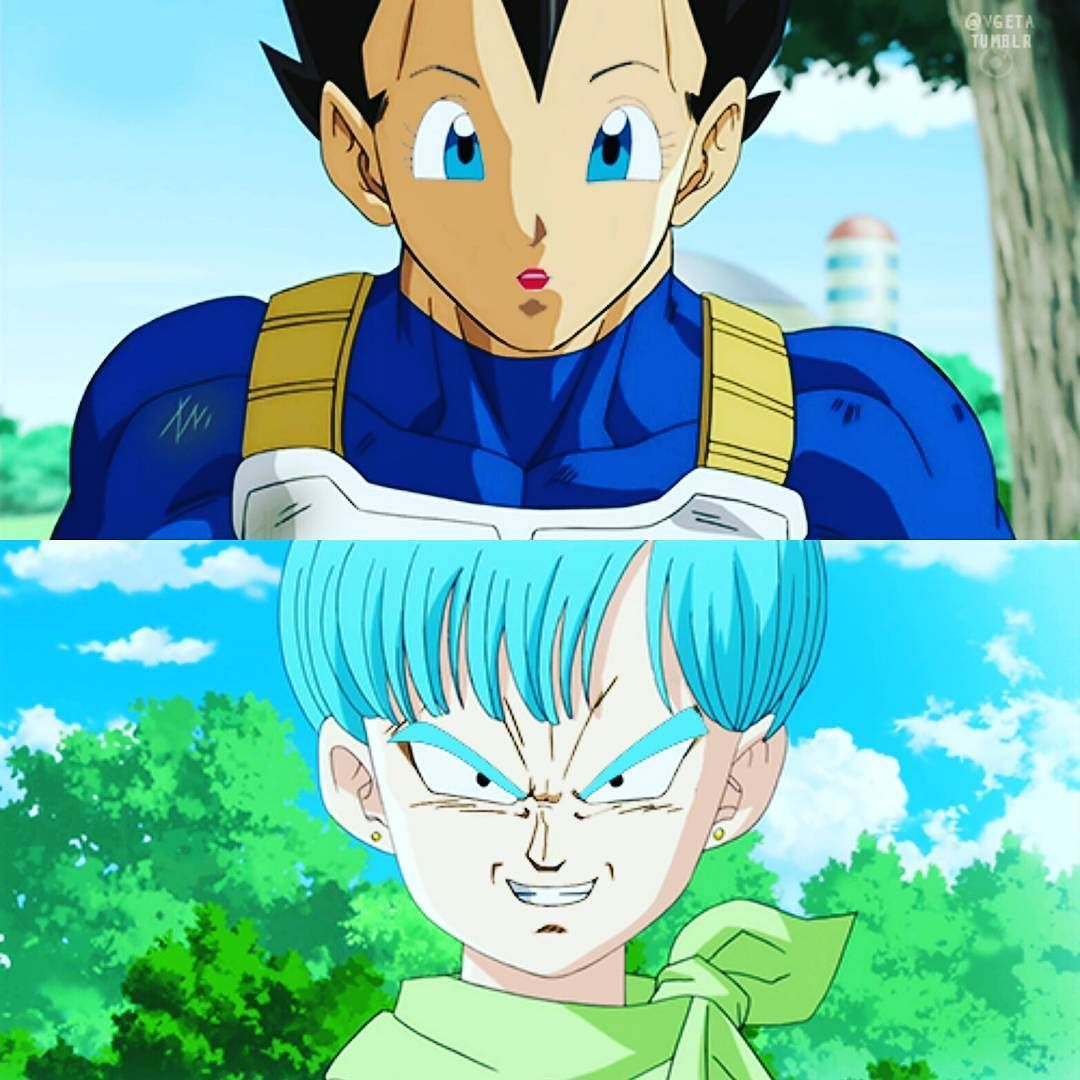 Epic face swap! bulma vegeta faceswap dragonballsuper