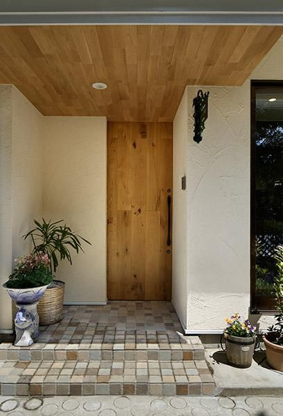 美しくて使いやすい玄関ポーチの作り方 玄関 外観 玄関 玄関ポーチ