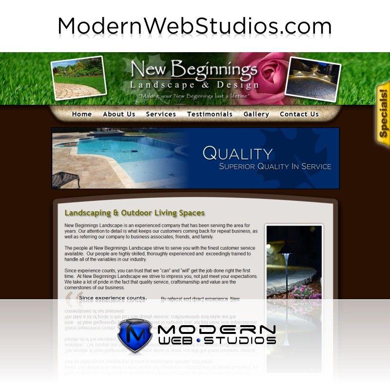 Landscaper website.  To learn more visit us at http://modernwebstudios.com/