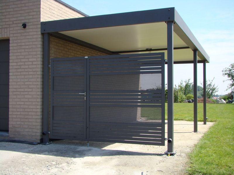 Metallooks Carports poorten carport aluminium Pinterest Car - garten lounge uberdacht