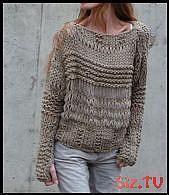 Photo of Grunge sah nie Sexier! Eine perfekte klobig aber locker stricken Pullover für d…