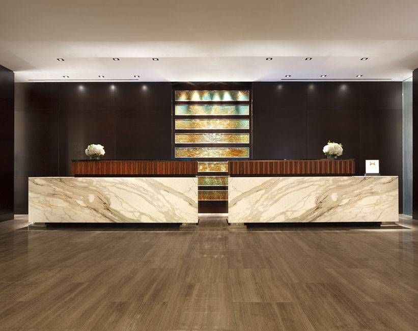 Wan Interiors Hotels Hilton Mcclean Hotel Reception Desk Chris