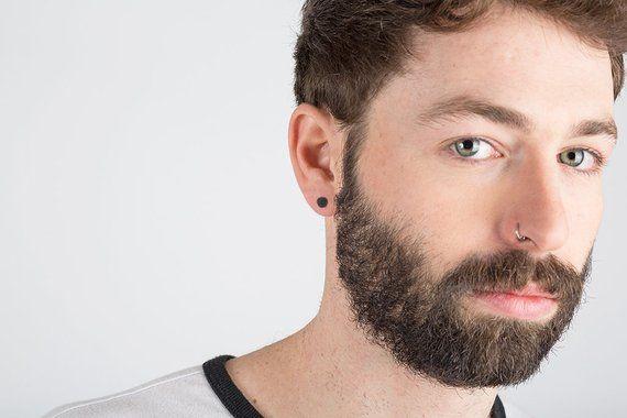 a010f75e7 Earring for Men, Men Earring, Disc Earring, Round Earring, Earrings for Men  Stud, Stud Earring for M