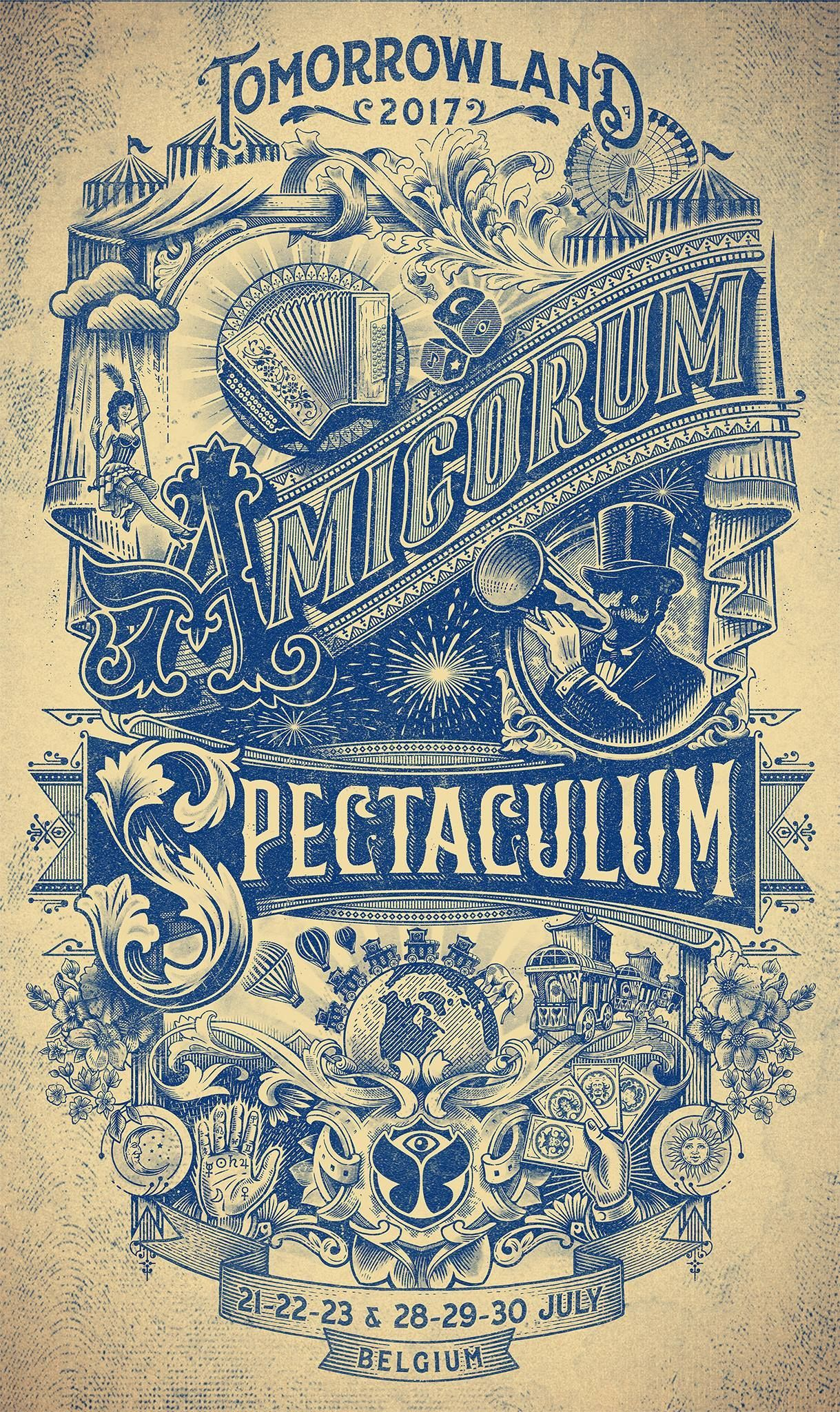 "Tomorrowland unveils the stages of its ""Amicorum Spectaculum"" theme"