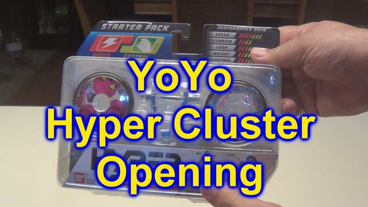 Open Unbox And Assemble The Hyper Cluster Yoyo Starter Set Yo Yo Cluster Starter Yo Yo