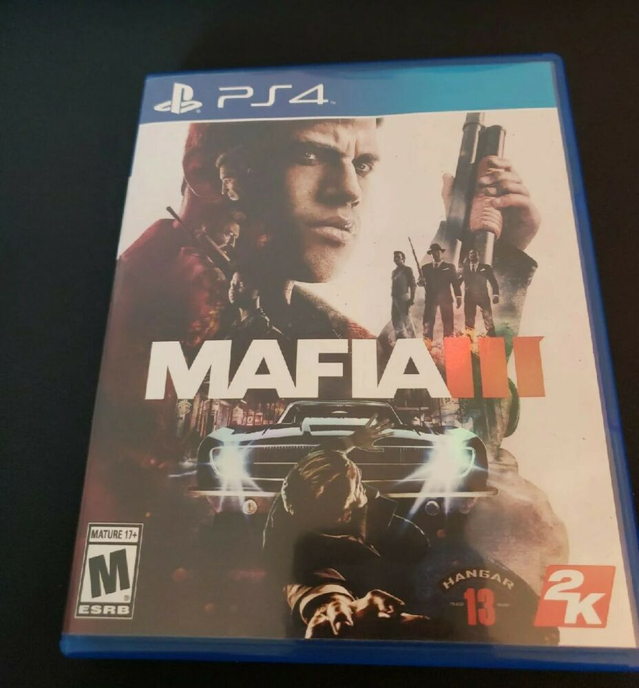 Mafia 3 Includes Map Playstation 4 Ps4 Free Shipping Ps4