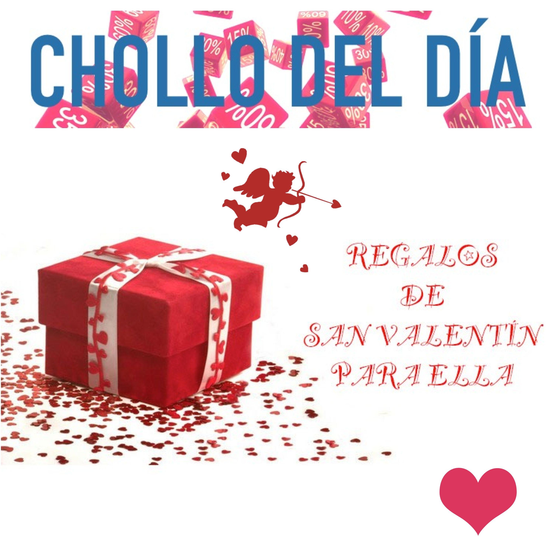 Encuentra ideas para regalarle a tu pareja para el día de #SanValentín con el #chollo del día. http://ow.ly/I8KFl