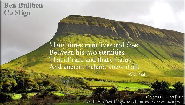 Read all poem here; http://www.irelandcalling.ie/under-ben-bulben …