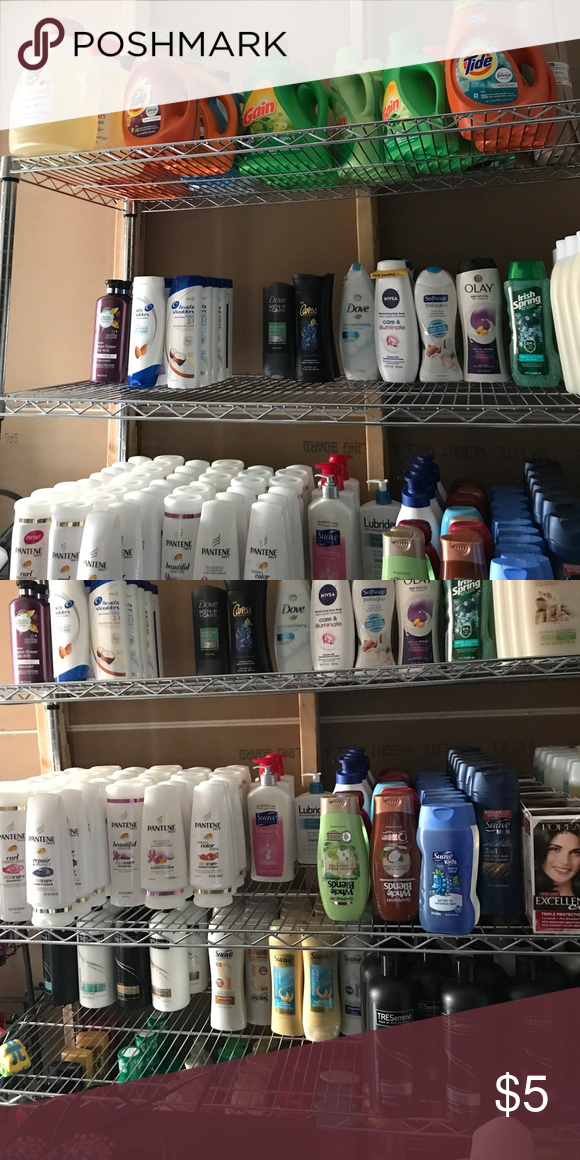 House Holding Items Shampoo Conditioner Laundry Detergents Etc