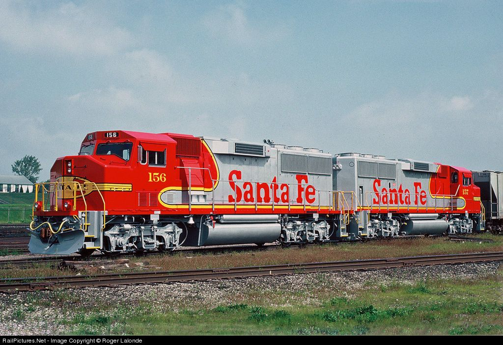 Railpictures net photo atsf 156 atchison topeka santa for Railpictures