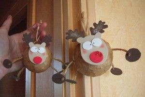 Boules de Noël en polystyrène   Les loisirs de Choupy   Deco noel