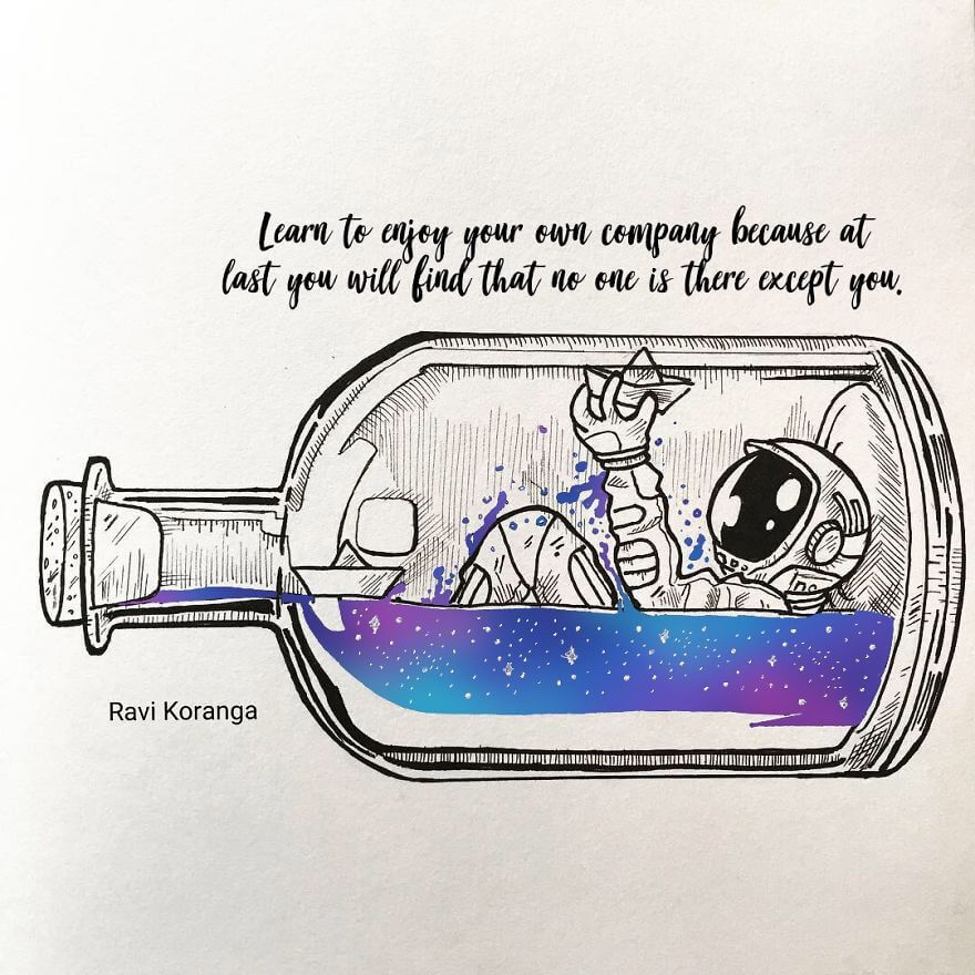 Space Fantasy Bottle