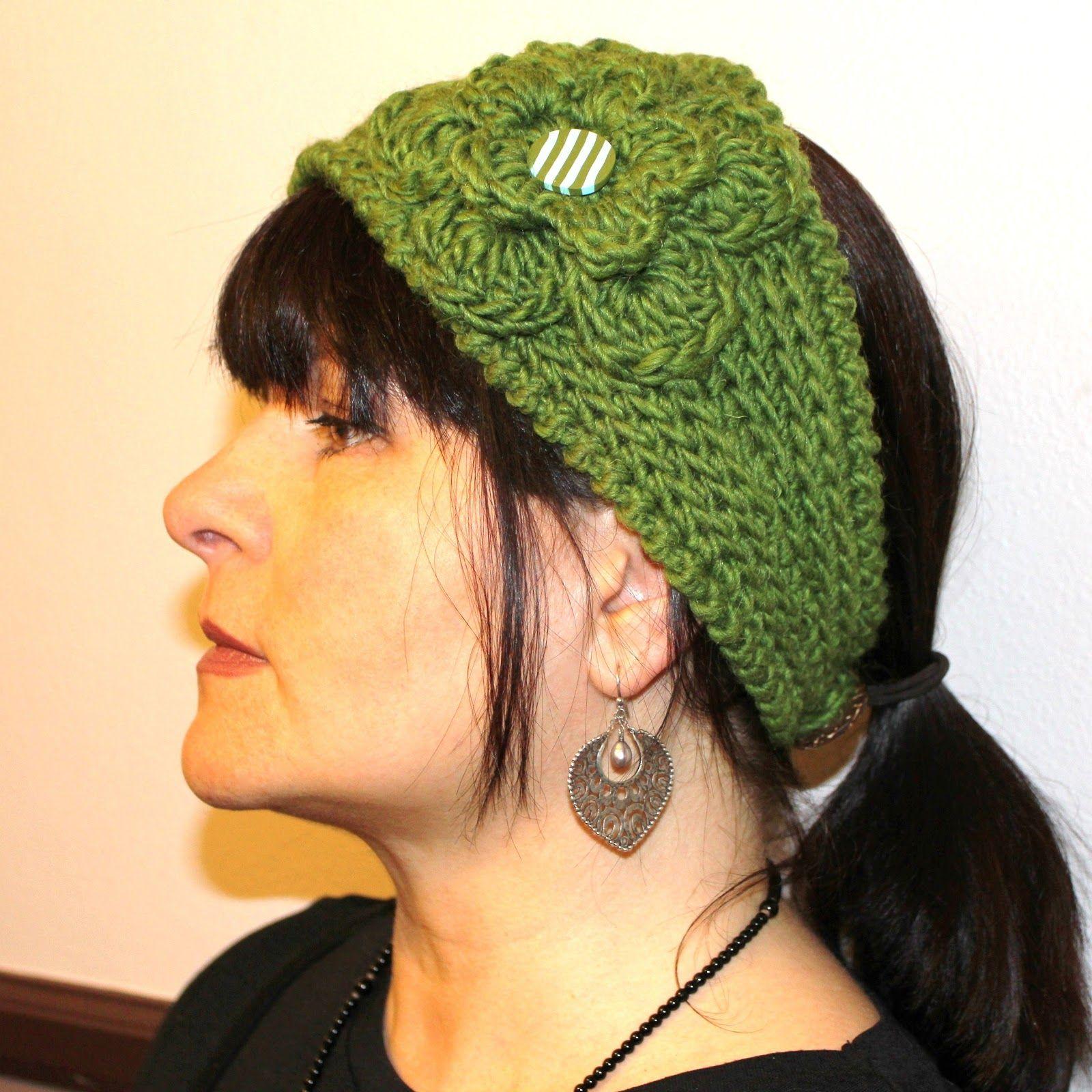 CROCHET PATTERN - Fast Crochet Headband Kayla Bulky Weight Yarn Two ...