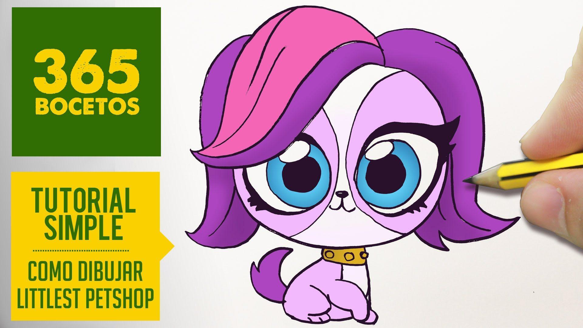 Como Dibujar Littlest Pet Shop Kawaii Paso A Paso Dibujos Kawaii