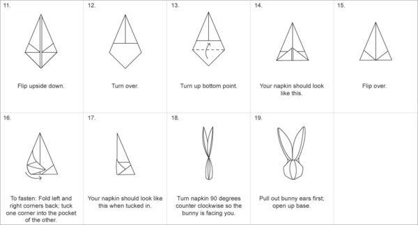 origami hase falten anleitung und inspirierende. Black Bedroom Furniture Sets. Home Design Ideas