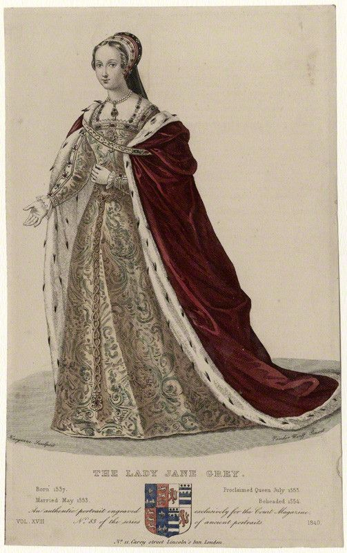 Photo of Lady Jane Grey – National Portrait Gallery