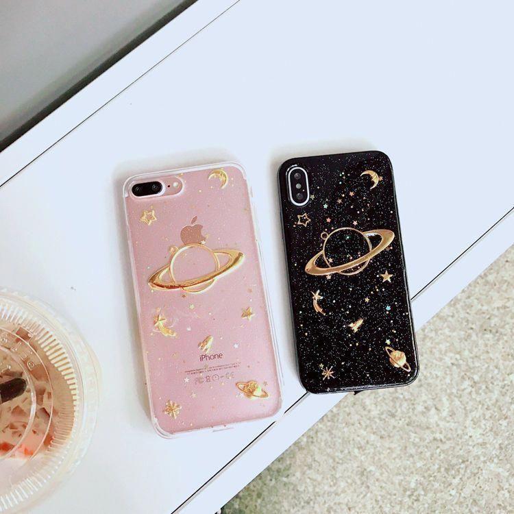 Hachi Planet Phone Case - iPhone X / 8 / 8 Plus / 7 / 7 Plus / 6S / 6S Plus / 5S | YesStyle