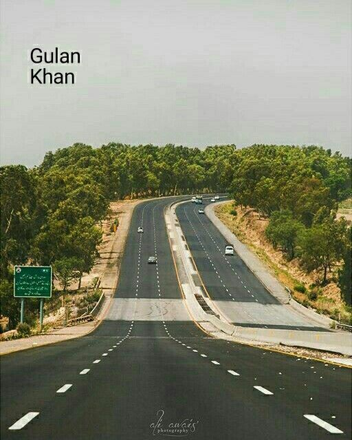 Islamabad Roads: So Beautiful Motorway Road Islamabad To Lahore