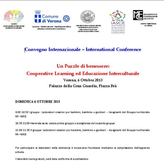 International Conference cooperative learning